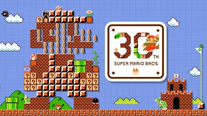 Super Mario Bross A 30 Ans Joyeux Anniversaire