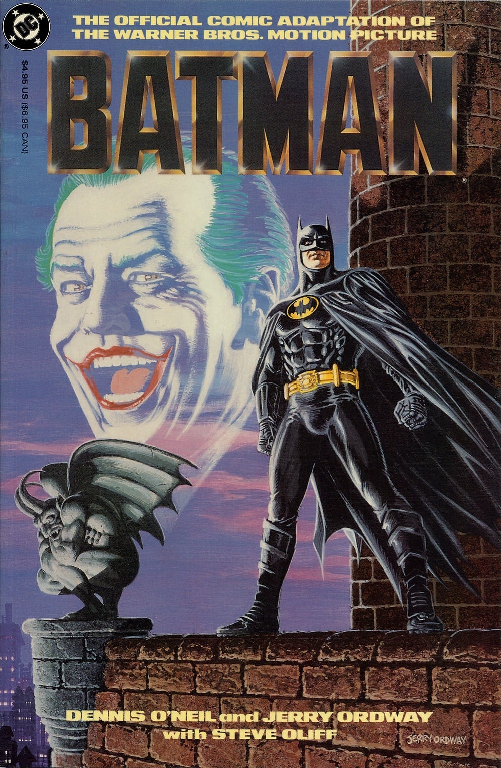 BatmanMovie1989ComicAdaptation