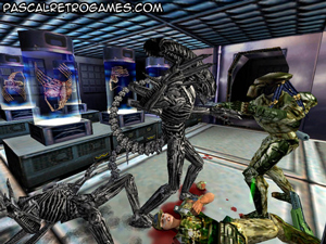 Petit ScreenShot du jeu Alien Vs Predator