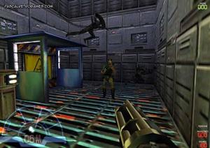 Vue Marine dans le jeu Alien Vs Predator
