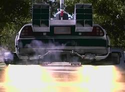 la voiture volante de retour vers le futur 2 !