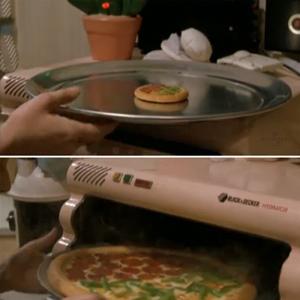 La pizza lyophilisé de retours vers le futur 2 !
