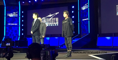 PlayStation Experience 2015 : Final Fantasy VII