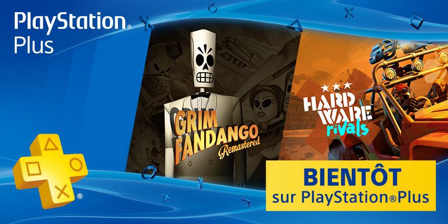 PlayStation Plus janvier 2016