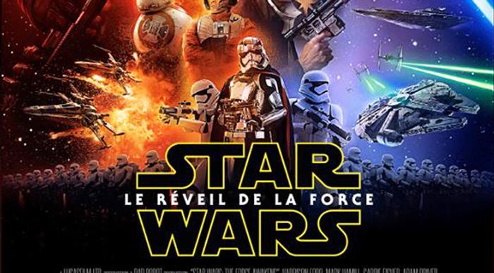 Star Wars le réveil de la force