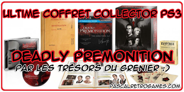 deadly premonition edition collector ps3