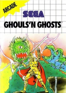 Ghosts'n Ghosts sur SEGA Master System