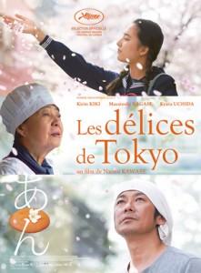 les delices de tokyo affiche