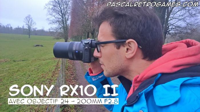 Le Bridge Sony RX10 II - 24-200mm