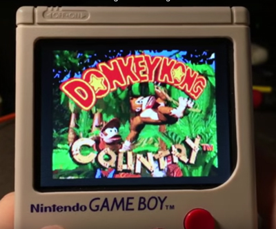 game boy raspberry pi-donkey kong country