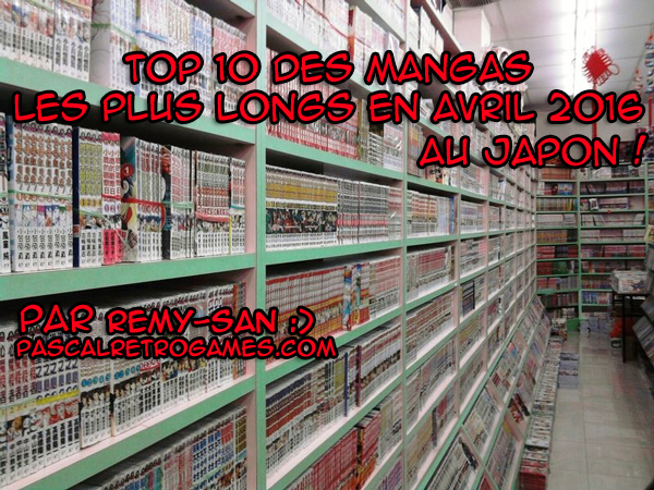 top 10 des mangas les plus longs au japon en avril 2016