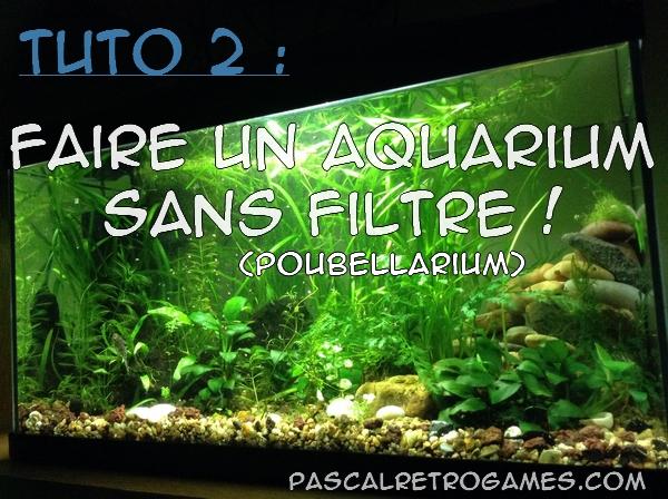 aquarium naturel sans filtre