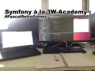Symfony à la 3w academy