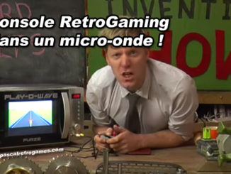 Une console RetroGaming dans un micro-onde... WTF