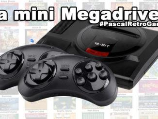la mini Sega Megadrive