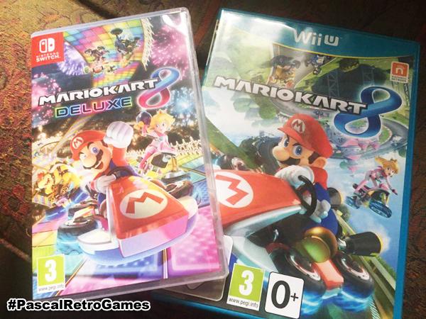 Mario Kart 8 Deluxe sur Nintendo Switch et Wii U