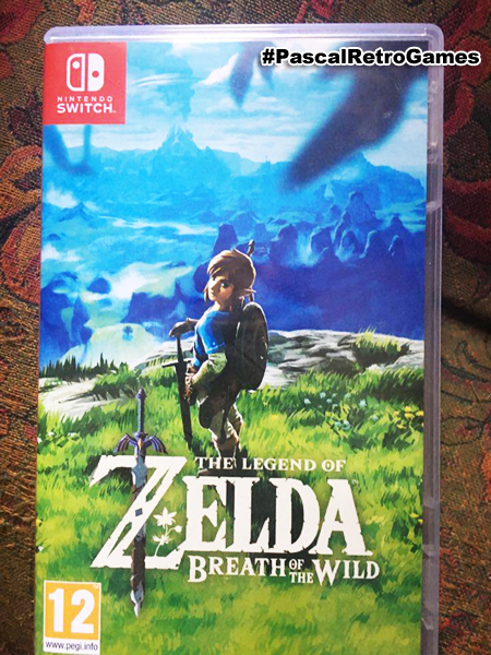 The Legend of Zelda: Breath of the Wild sur Nintendo Switch