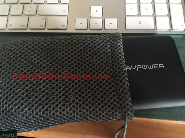 pochette chargeur rav power