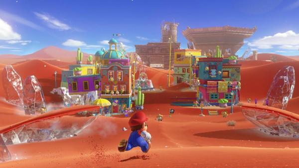 l'univers magnifique de Mario Odyssey