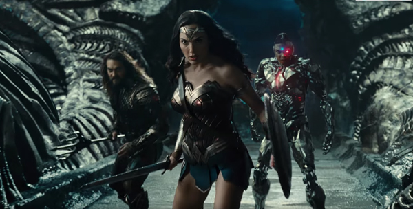 Wonder Woman, Aquaman et Cyborg