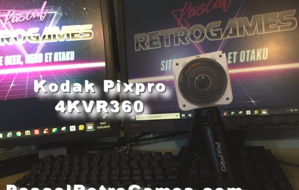 Kodak Pixpro 4KVR360,