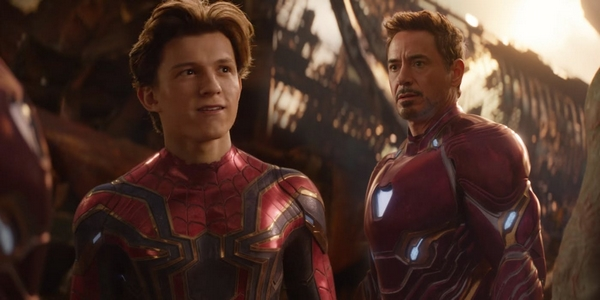 Spiderman et Iron Man dans Avengers Infinity War