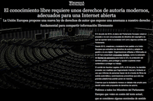 Wikipedia noir proteste Article 13